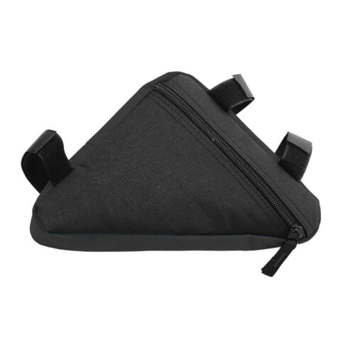 Waterproof Portable Mountain Bike Black Triangle Bag Bicycle Frame Beam Bags