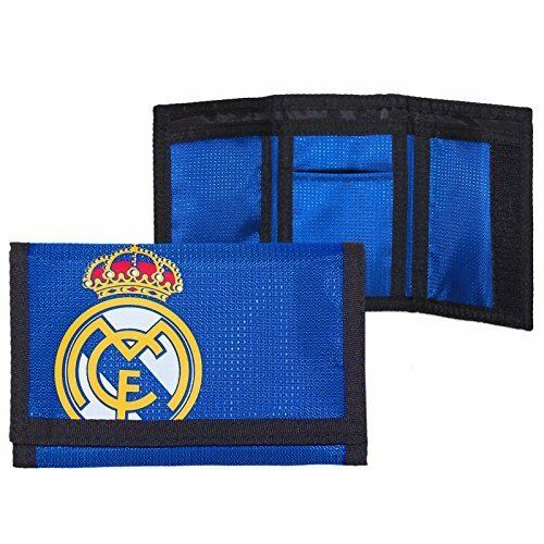 Football Club Latest Foil Print Design Real Madrid Nylon Wallet
