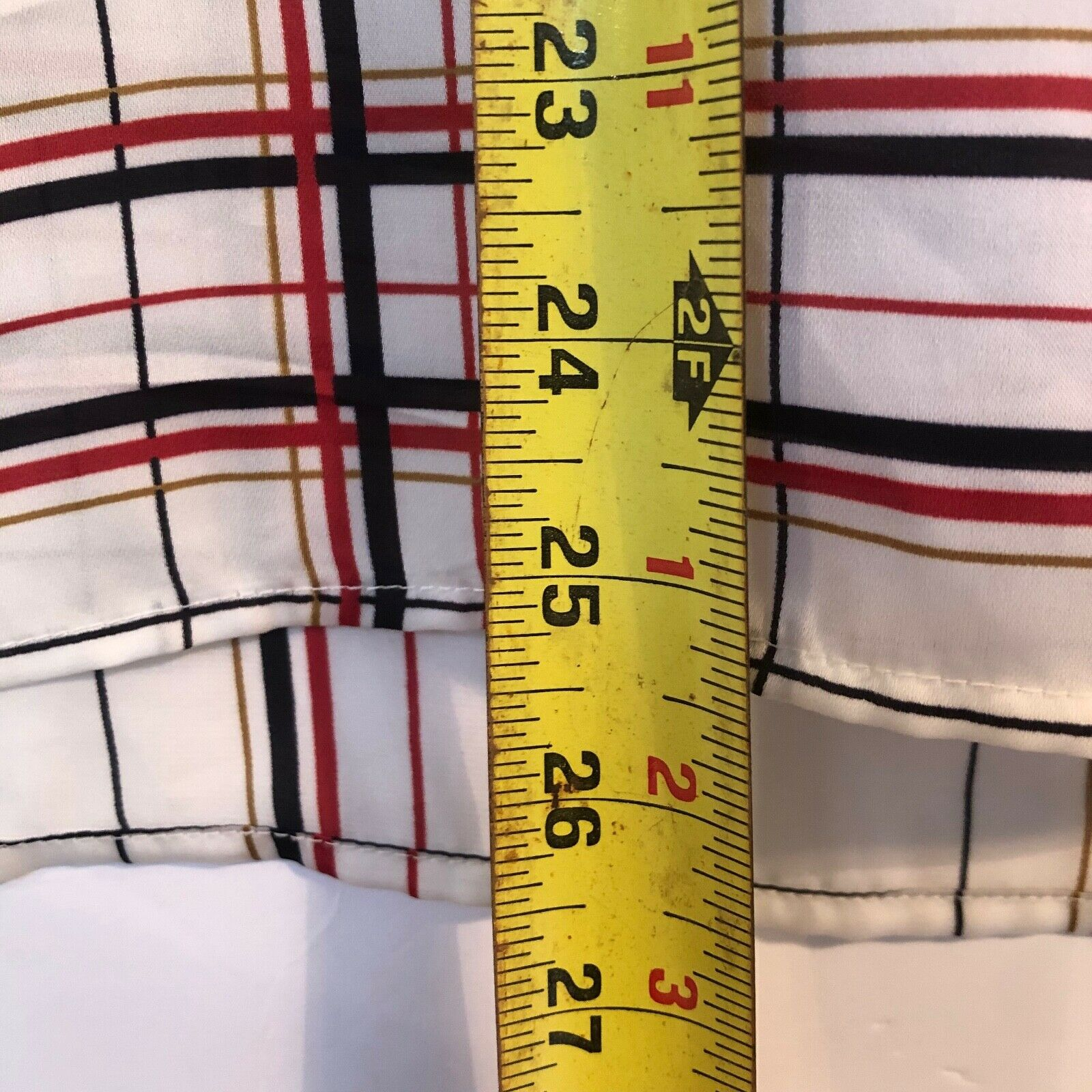 The Limited Blouse Red Black White and Gold Tarta… - image 6