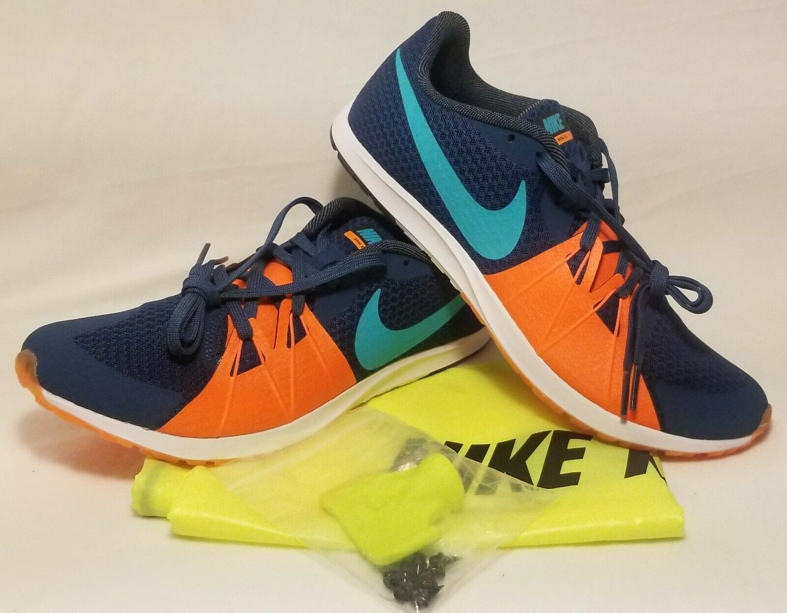 NIKE Zoom Rival XC Spikes Cross Country Spikes 904718-438 Men's Size 8
