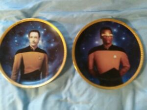 STAR TREK COLLECTIBLE PLATES FROM THE HAMILTON COLLECTION