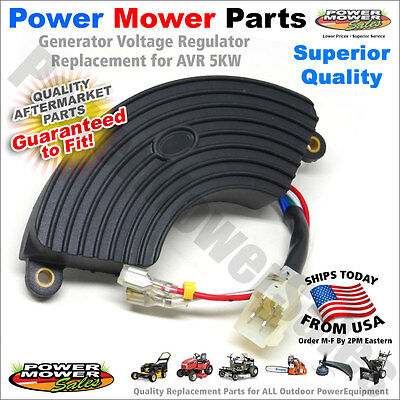 AVR Automatic Voltage Regulator Rectifier Generator 4KW 5KW 5.5KW 6KW 6.5KW