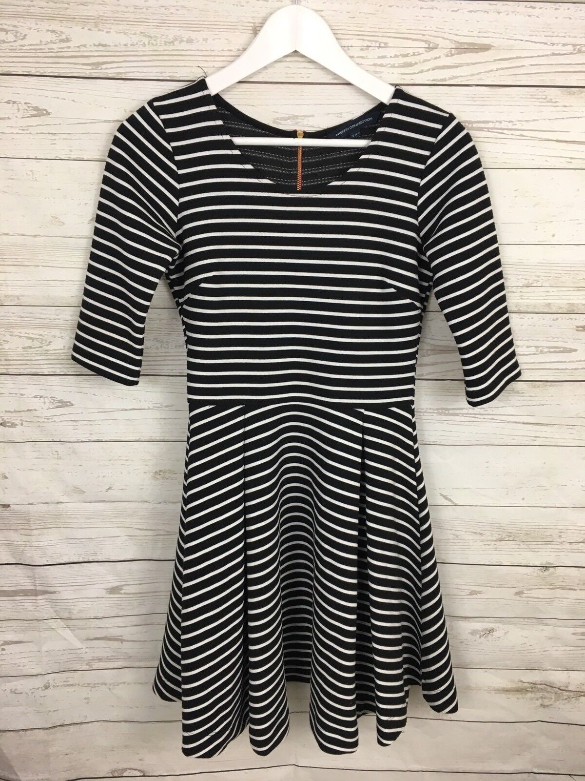 Women's French Connection Dress - UK8 - Striped- Great Condition