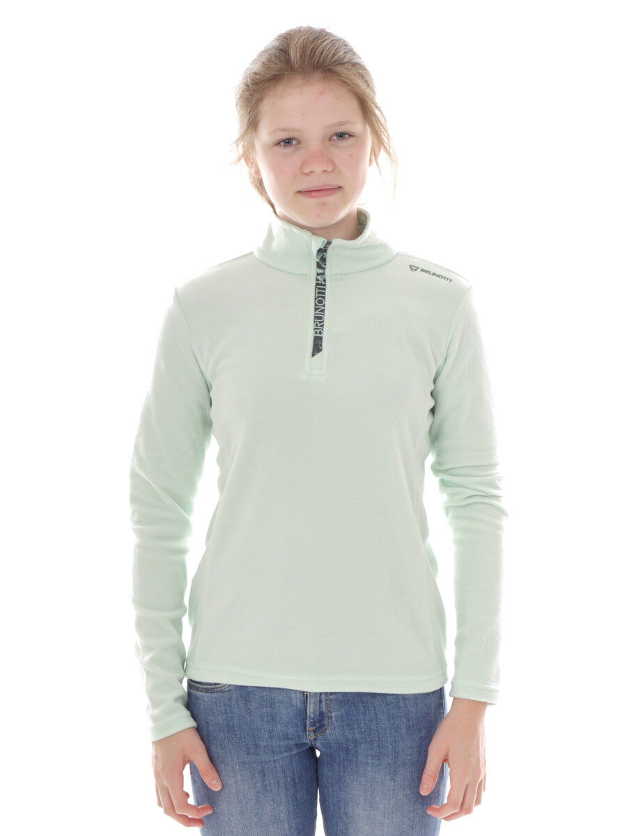Brunotti Fleece  Pul r Functional Shirt Green Mismy Breathable Warm  outlet store