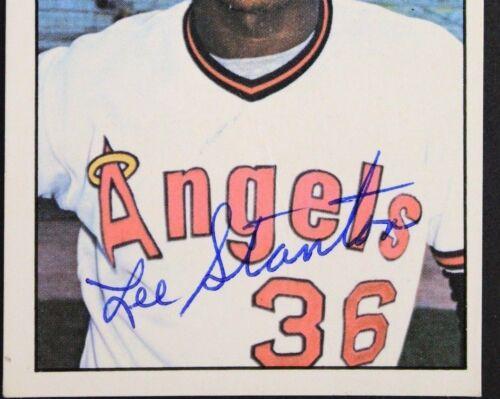 Leroy Stanton Angels 1975 SSPC #204 Autographed Baseball Card