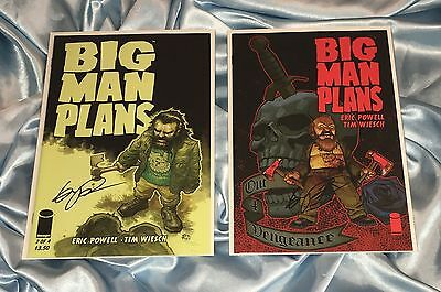 BIG MAN PLANS #1~HAND-SIGNED BY ERIC POWELL~THE GOON~1ST PRINTING~