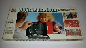 Juego de mesa HUNDIR LA FLOTA de MB © 1981