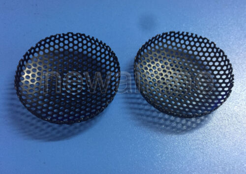 2pc New 36mm Tweeter Cover Audio Speaker Decorative Circle Metal Mesh Grille
