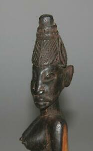 African Statue Ebony Carved Wood Figure Tanzania Figure
