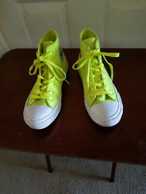 green High Tops Athletic Shoes