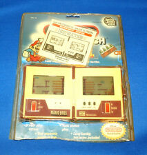 80s MARIO BROS. NINTENDO GAME & WATCH ELECTRONIC HANDHELD BLISTER CARD 1980s DS