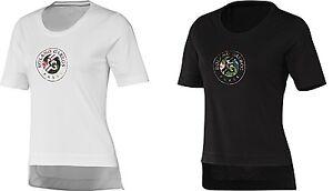 5988d1f3d New Women s Adidas RG Y-3 Event tee Tennis T-Shirt Aop FLOWER 2 ...