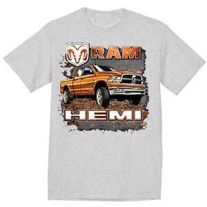 ebc899e71bf big and tall t-shirt for men Dodge Ram Hemi trucks tall tee shirt ...