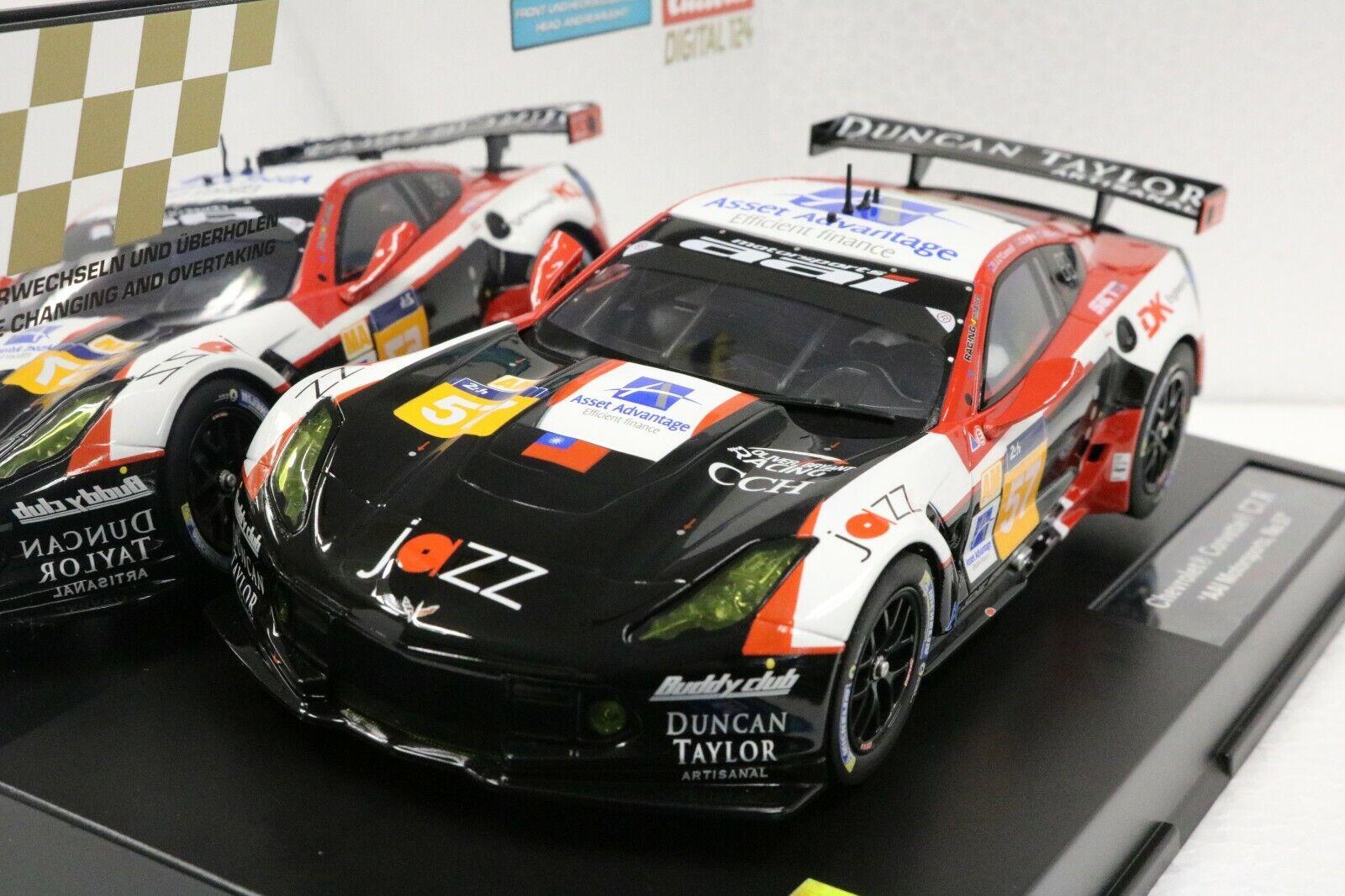 Carrera 23836 Digital 124 Corvette C7.R,  57 AAL Motorsports NOUVEAU 1 24 Slot Car