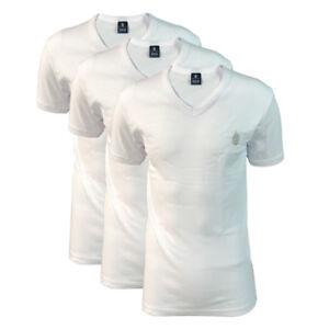 104e78b2e6 Dettagli su 3 t-shirt uomo mezza manica scollo a V caldo cotone MARINA  YACHTING art. MY6562