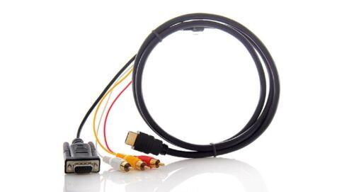 cavo RCA #m634 placcato oro 1 5M HDMI a VGA