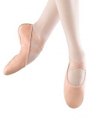 New in Box Bloch S0208M Men/'s Split Sole BLACK Leather Ballet Shoes