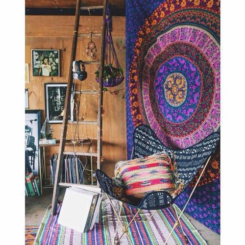 Rainha Índio Hippie Suspensão De Parede Mandala Tapeçaria Boêmio Colcha Dormitório Decoração