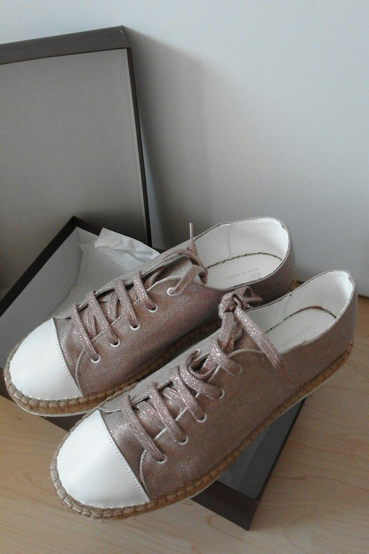 NEU NEU NEU    Espadrilles Sneaker Schnürer von Macarena Gr. 41 NP e4ea08