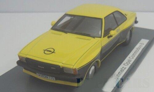 NEO 46115 - Opel Commodore B Steinmetz jaune / noir   1/43