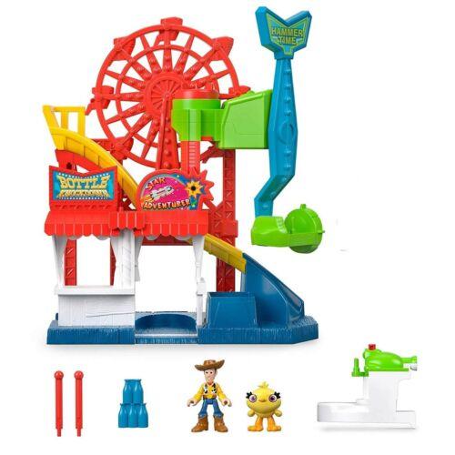 Toy Story 4 Carnaval Playset Disney Imaginext FORAINS ET SET FIGURE NEW