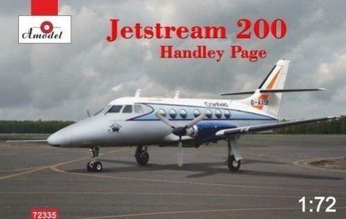 1 72 Light Airliner  HP Jetstream 200  Cranfield   [UK G-AXUI]    Amodel