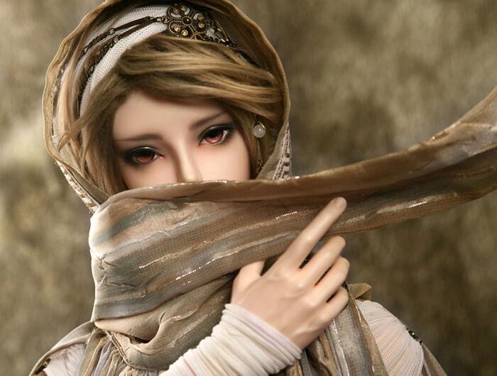 1 3 Muñeca Heliot-desierto ermitaño (Elf cabeza) con ojos libre Reemplazo