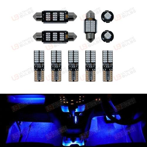 PREMIO Blu LED Interno Kit-Si Adatta A VW Scirocco MK3-super luminosi SMD Lampadine