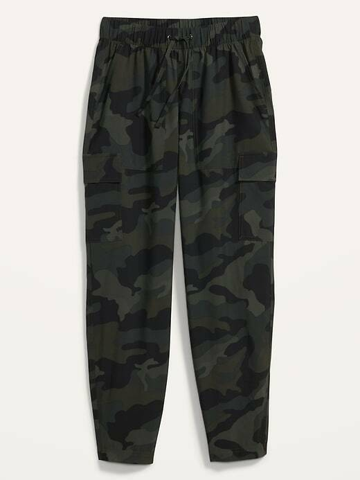 Old Navy NWT size S High-Waisted StretchTech Cargo Ankle Pants for Women