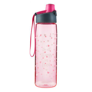 Pink-Do-All-Things-in-Love-Plastic-Water-Bottle