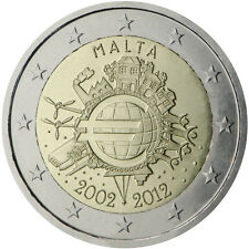 Malta - 2 Euro 10th Anniversary of Introduction of Euro Coins and Banknotes