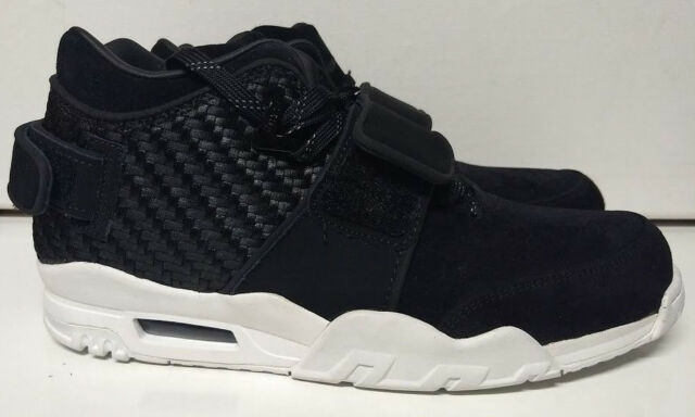5ce4016766d8 Nike Air Trainer Victor Cruz Size 9 Black White Mens Shoe Sneaker 777535-004