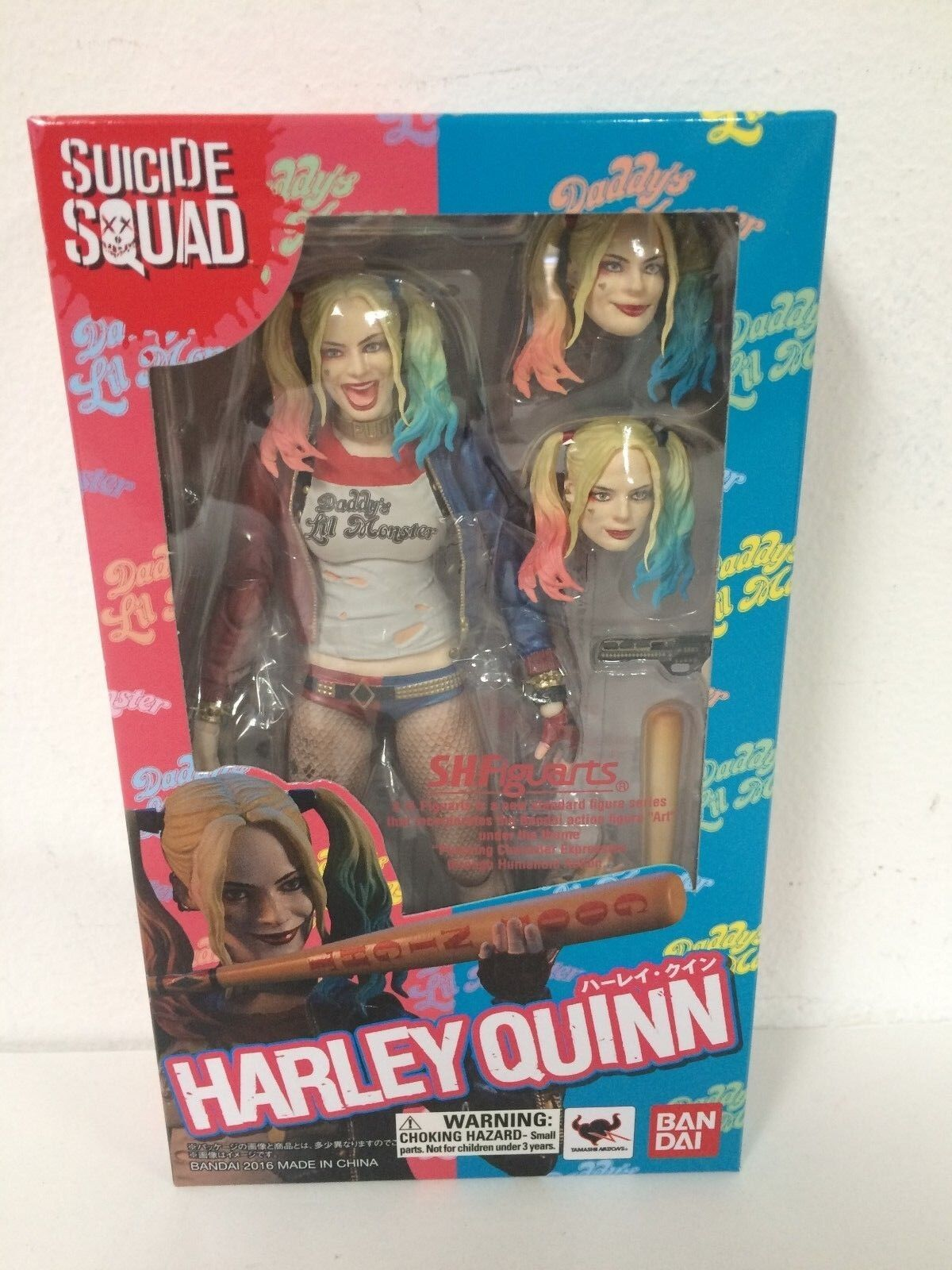 AUTHENTIC   S.H. Figuarts Harley Quinn Suicide Squad Margot Robbie - BRAND NEW