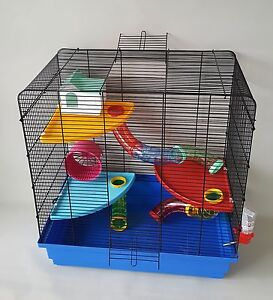 Groovy Details About Large Mouse Hamster Cage Corner Platform Tubes Water Bottle House Mice Rat Cages Interior Design Ideas Oteneahmetsinanyavuzinfo