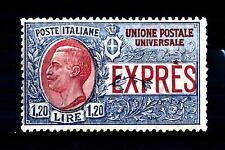 ITALIA - Regno - Espresso - 1922 - Effigie di Vittorio Emanuele 3° - 1,20 lire a