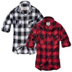 Brandit-Damen-Hemd-Amy-Flanell-Shirt-Kariert-WMN-Bluse-Oberteil-XS-bis-XL-NEU