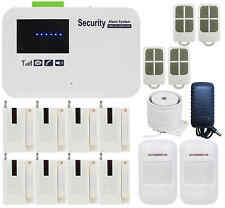 V65 IOS/Android APP GSM SMS Wireless Home Security Alarm Burglar System DIY Set
