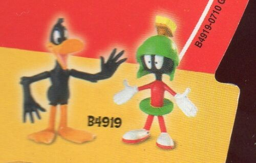 DAFFY DUCK ACTION FIGURES MARVIN THE MARTIAN LOONEY TUNES