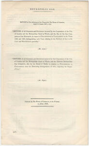 1868-London-Metropolis-Gas-Company-Report-of-Charges-amp-Expenses-Parliament