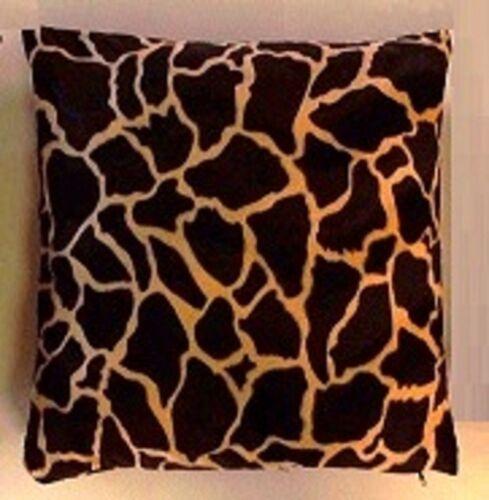 Pillowcase Cover Fur Imitation Africa Safari 40x40//50x50 or 40x60 cm.Various.