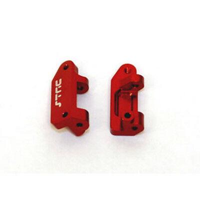 STRC Slash Rustler Stampede Caster Blocks Aluminum (Red) ST3632R