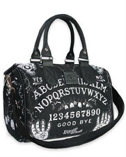 Liquor Brand Ouija Occult Gothic Punk Tattoo Handbag Purse Round Bag B-RB-013