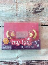 """18"""" Doll left and right hearing aids and stickers for My Life."""