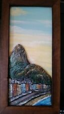 Framed picture of famous mountain in Rio, Brasil by Cicle