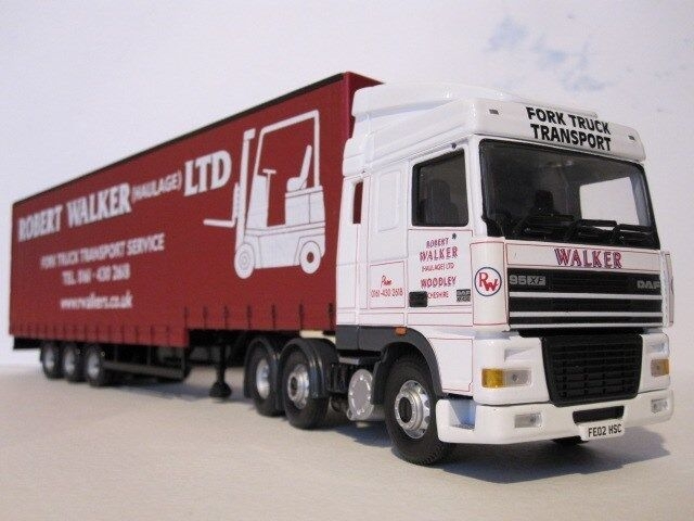 Corgi moderno camiones Robert Walker (pre propiedad)