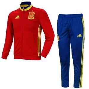 paso Perforar sin cable  Adidas Espagne FAE BOY'S PRESENTATION Survêtement Football Fashion Veste  Pantalon | eBay