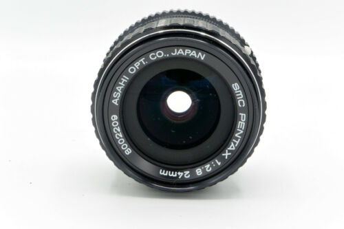 Pentax 24mm f//2.8 PK-Mount Manual Focus Prime Lens