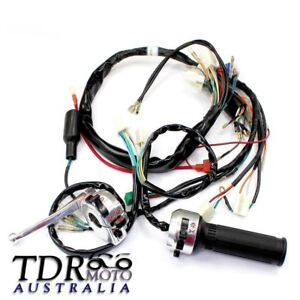 Details about LIGHTS WIRE WIRING HARNESS WIRES FOR HONDA MONKEY Z50 on
