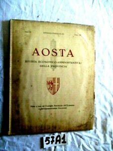 AOSTA RIVISTA  DELLA PROVINCIA  GENNAIO FEBBRAIO  ANNO IX   (57A1)