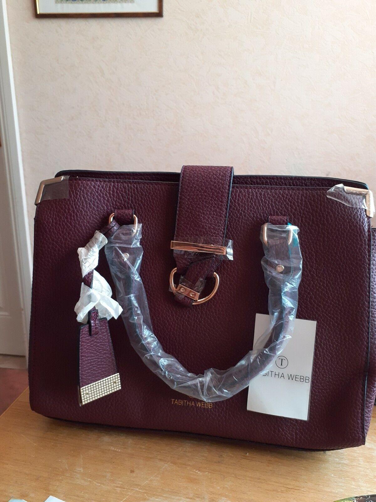 Tabitha webb for Avon Large Burgundy Bag Brand New In Packaging rrp